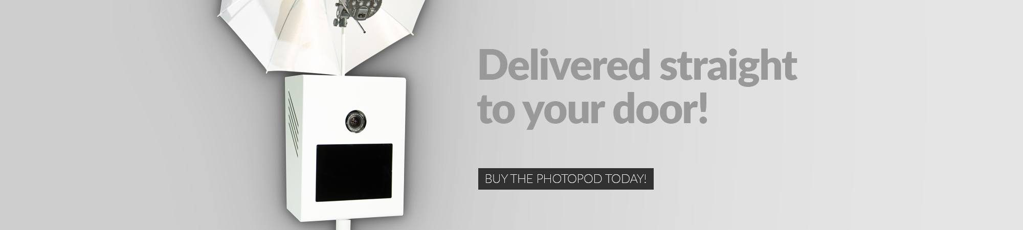 shipping policy banner image for The Photopod