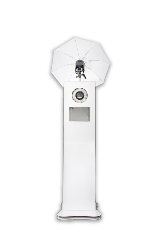 photo booth Selfie Tower with light